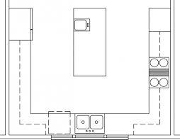 Square Kitchen Floor Plans Kitchen Floor Plans Peninsula