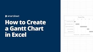 How To Create A Gantt Chart Free Gantt Charts In Excel Templates Tutorial Video