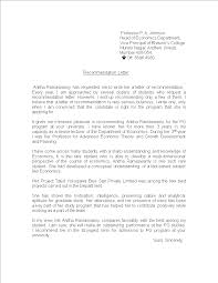 Reference Letter From Professor Templates At