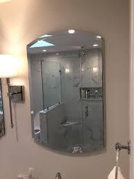 recently installed shower door enclosures