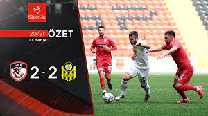 2020-2021 Gaziantep FK 2-2 Helenex Yeni Malatyaspor maç özeti  tr.beinsports.com