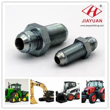 Hydraulic Fitting Type Chart Jic Type Hydraulic Fitting In American Equipment Application