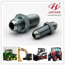 Hydraulic Fitting Chart Pdf Jic Type Hydraulic Fitting In American Equipment Application
