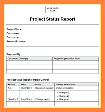 Status Report Format Work Report Format Daily Work Report Template Project Status Word