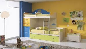 brilliant joyful children bedroom furniture. charming picture of blue and yellow kid bedroom decoration brilliant joyful children furniture