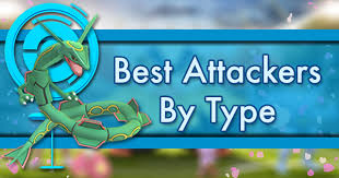 Pokemon Weakness Chart Gen 7 Best Attackers By Type Pokemon Go Wiki Gamepress