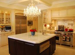 kitchen island chandelier lighting. Brilliant Chandelier For A Larger Island You Can Do Two Chandeliers Intended Kitchen Island Chandelier Lighting I