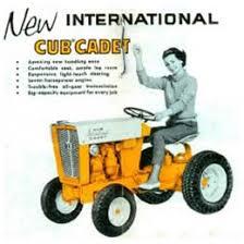 cub cadet garden tractors. Cub Cadet Marketing Material Targeting Suburban Women Garden Tractors E
