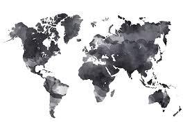 Kleurplaten Wereldkaart Poster Zwart Wit Cool Vind Je Dit Item