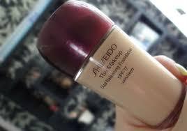 shiseido dual balancing foundation spf 17 natural light beige shiseido the makeup dual balancing spf 17
