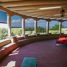 santa fe patio wind and solar screens