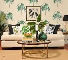 decorative wall stencils luxury a diy stenciled living room accent wall using the palmetto leaf wall
