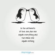 Penguin Love Quotes Magnificent In The Arithmetic Of Love One Marriage Quotes
