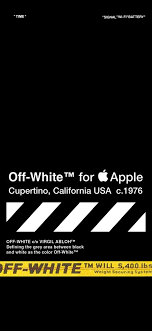 Off White iPhone HD Wallpapers ...