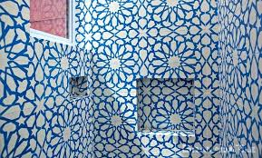 cement tile design for bathroom blue patterned tiles wall uk southern