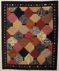 34 best COURTHOUSESTEP QUILT images on Pinterest | 'salem's lot ... & Courthouse steps from Chicago Quilt Show class Adamdwight.com