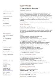 Resume For Administrative Assistant Classy Pin By Heather Frady On Resume Pinterest Sample Resume Resume