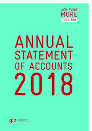 Unified Chart Of Accounts 2017 Giz Annual Statements Of Accounts 2018 By Deutsche