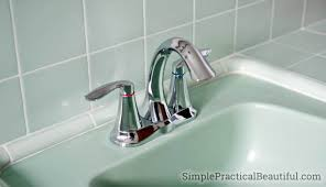 Install Bathroom Sink Extraordinary How To Install A Bathroom Faucet Simple Practical Beautiful