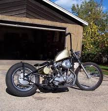 1974 custom sportster ironhead bobber motorcycle by kyle