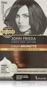 John Frieda Precision Foam Color Chart John Frieda Precision Foam Permanent Hair Colour In 5nbg