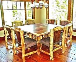 round wood kitchen tables