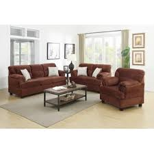 Microfiber Living Room Sets You Ll Love Wayfair