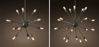 restoration hardware sputnik chandeliers
