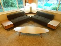 Mid Century Modern Sectional Sofa Quick View A Briar Sleeper