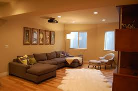 Decorating Ideas How To Make A Low Ceiling Feel Higher - Finished small basement ideas