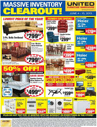 United Furniture Warehouse flyer Jun 4 to 13
