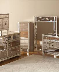 Mirrored Furniture Bedroom Set Mirrored Master Bedroom Furniture Square Shape Wooden Bedside