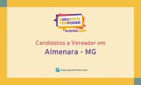 Candidatos a Vereador em Almenara, MG nas Eleições 2020