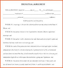 Sample Prenup Prenup Agreement Template Prenuptial Example Of Uk F