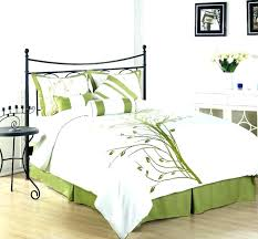 green duvet cover with regard to your home black and green bedding sets bedroom queen size