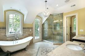 clawfoot tub bathroom ideas. Clawfoot Tub Bathroom Ideas This Spacious Features A Large Corner Shower With Unique Angled