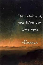 Short Quotes About Time Interesting The Trouble Is You Think You Have Time Buddha Don't Take It For
