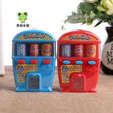 Diy Mini Vending Machine Impressive Free Shipping DIY Toy Vending Machine Snacks Candy Gift Sweets And