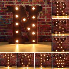 lighted letter signs. 12\u0027\u0027 Marquee N To Z Alphabet Letter Lights LED Light Up Sign Standing / Lighted Signs