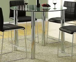 kona glass counter height table cm8320pt