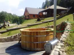wood fired hot tubs and wood burning stoves wood fired hot tubs for