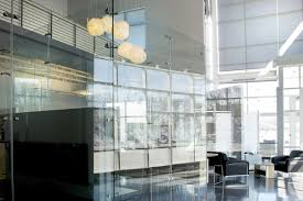Freestanding Glass Wall Partition Gallery 7