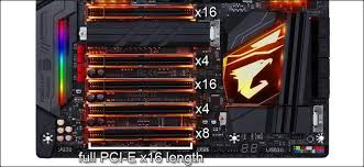 Why Are The Pci Express Ports On My Motherboard Different