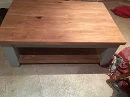 solid wood coffee table glasgow 150 00