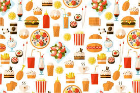 junk food background tumblr. Food Pattern Wallpaper Tumblr Background With Fast In Junk Pinterest