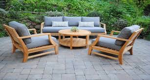 Delightful Design Outdoor Teak Furniture First Rate Patio Paradise