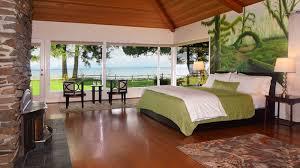Rainforest Bedroom Hoh Rainforest Suite Olympic National Park Lodging Port Angeles