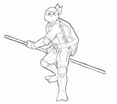 Small Picture Teenage Mutant Ninja Turtles Coloring Pages Donatello Keanuvillecom