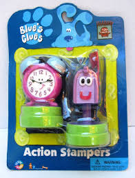 mailbox blues clues toy.  Toy Tickety Blues Clues Free New Action Stampers Toy Set  Tock Clock U0026amp Inside Mailbox Toy