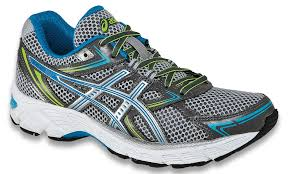 asics womens blue titanium gel equation 7 lightning brilliant running shoes